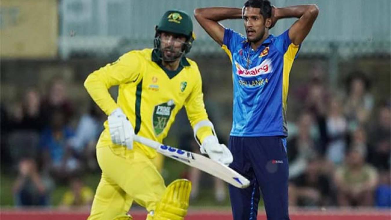 Aus vs SL: श्रीलंकाई गेंदबाज ने बनाया शर्मनाक रिकॉर्ड, टी20 इतिहास के एक मैच में दिए सर्वाधिक रन