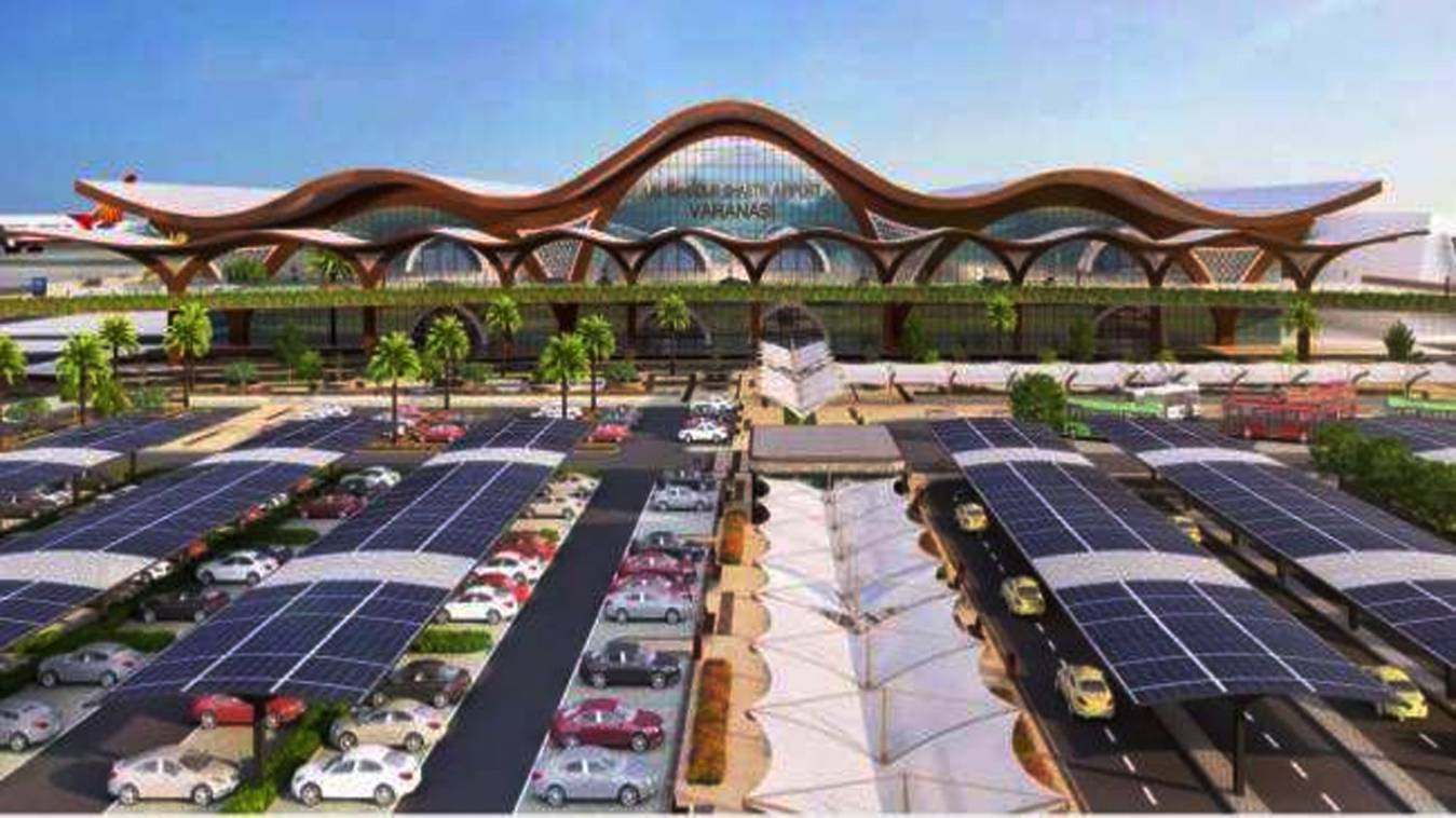 तैयारी: गंगा की लहरों व शिवलिंग सा होगा एलबीएस इंटरनेशनल एयरपोर्ट टर्मिनल, डिजाइन तैयार
