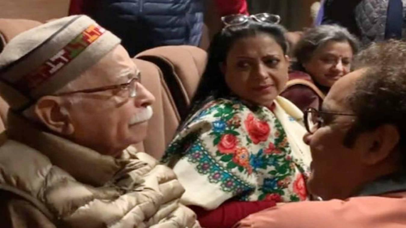 कश्मीरी पंडितों पर बनी फिल्म 'शिकारा' देख फूट-फूटकर रोए लाल कृष्ण आडवाणी, Video वायरल