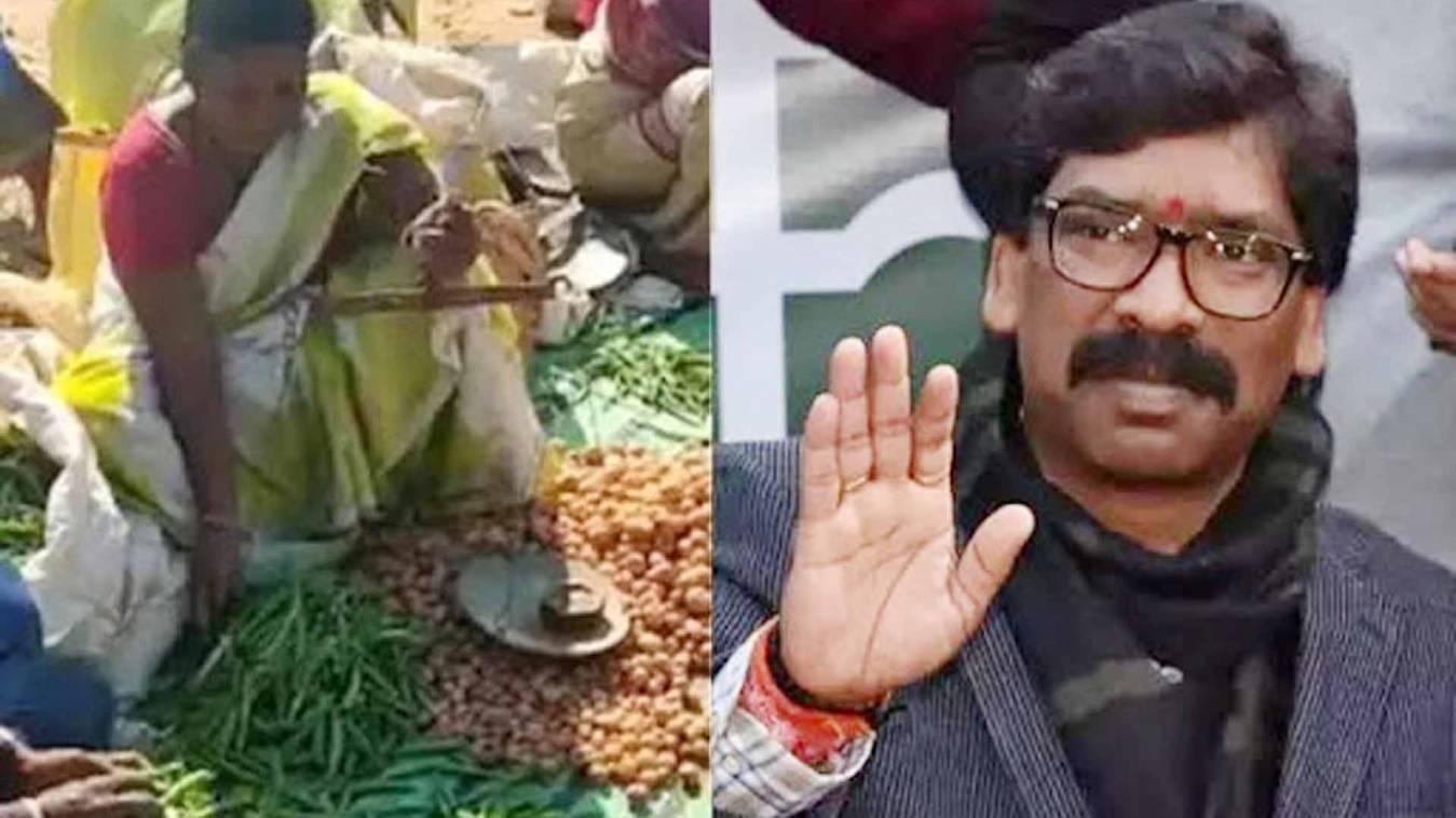 कर्तव्य: पेट चलाने को सब्जी बेच रही थीं पुलवामा शहीद की पत्नी, मुख्यमंत्री ने की तुरंत मदद