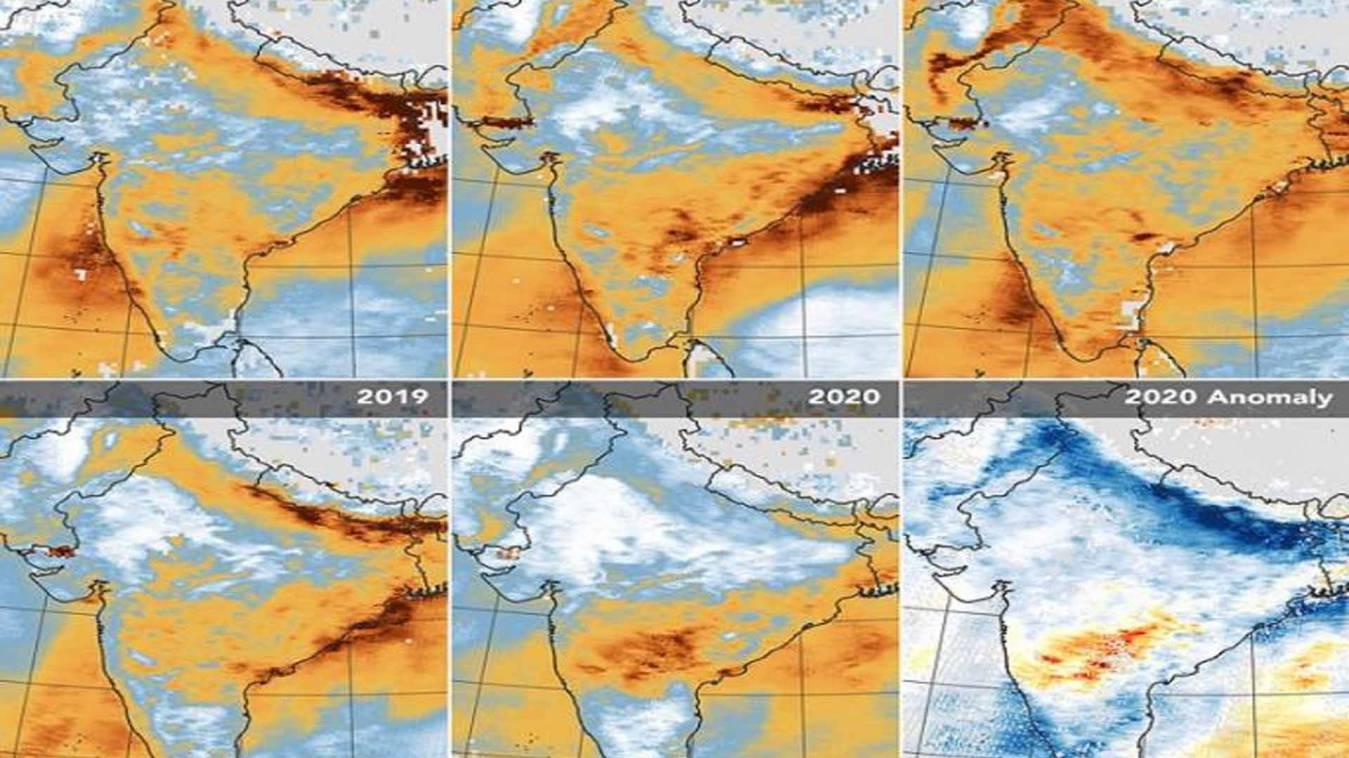 भारत की चौंका देने वाली तस्वीर NASA ने की साझा, जो कभी नहीं हुआ वो लॉकडाउन ने कर दिखाया