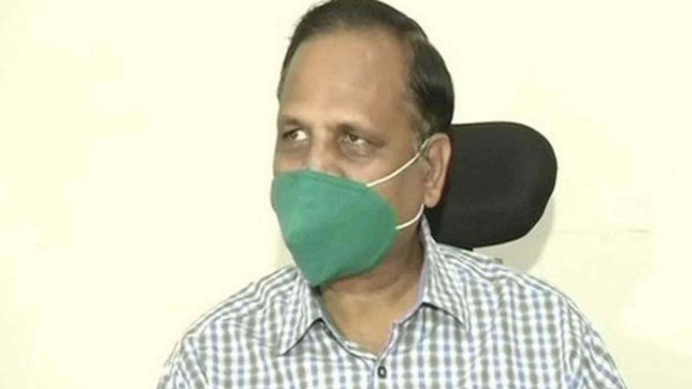 कोरोना पॉजिटिव दिल्ली के स्वास्थ्य मंत्री सत्येंद्र जैन ऑक्सीजन सपोर्ट पर, अब दी जाएगी प्लाज्मा थेरेपी