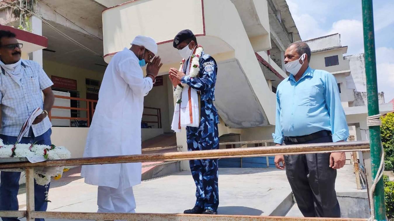 वाराणसी: स्वतंत्रता सेनानियों ने नहीं छोड़ी कोई कसर इसलिए आज हैं हम आज़ाद: राजेश्वर सिंह पटेल