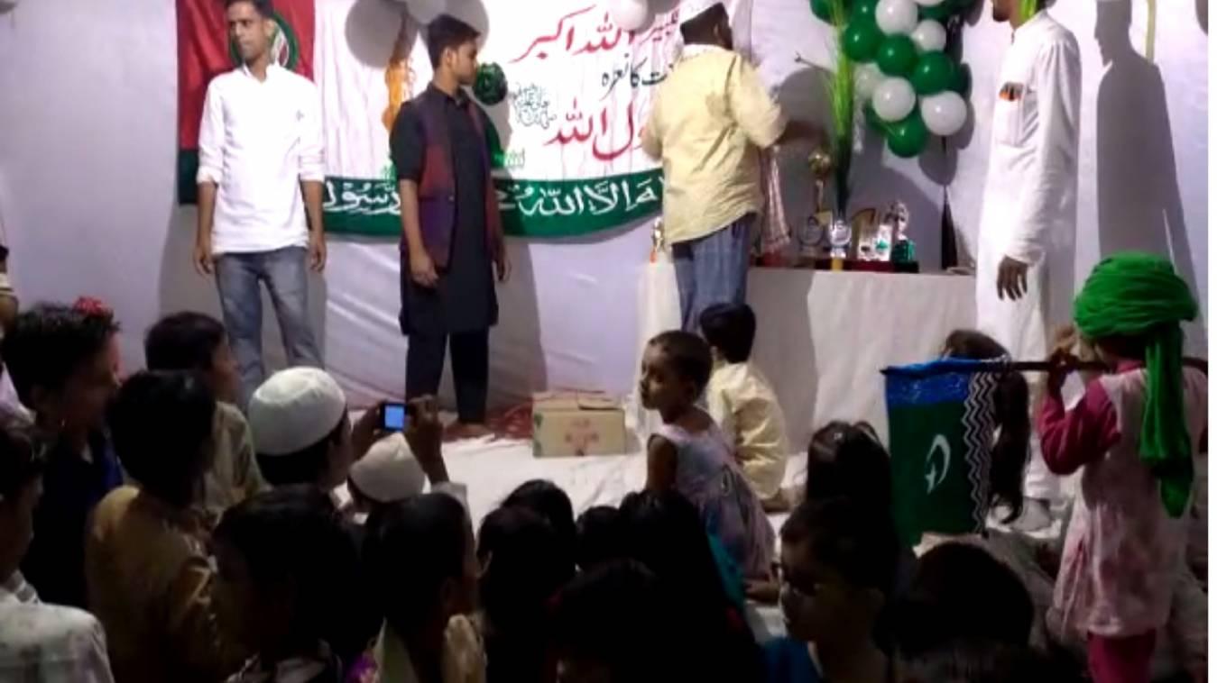 वाराणसी:हर्ष और उत्साह के साथ मनाया ईद मिलादुन्नबी का जश्न