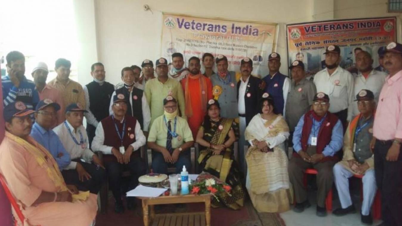 सैनिकों के साथ हो रहे दुर्व्यवहार औरउत्पीड़न के खिलाफ वैटरन्स इंडिया संगठन की हुई बैठक