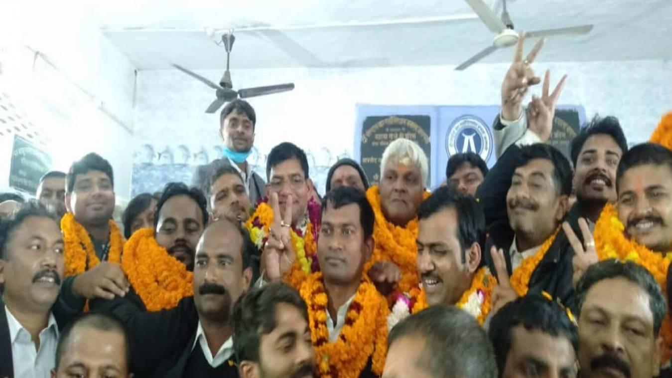 The Central Bar Association Election: अध्यक्ष बने अशोक कुमार उपाध्याय, महामंत्री कन्हैया लाल पटेल
