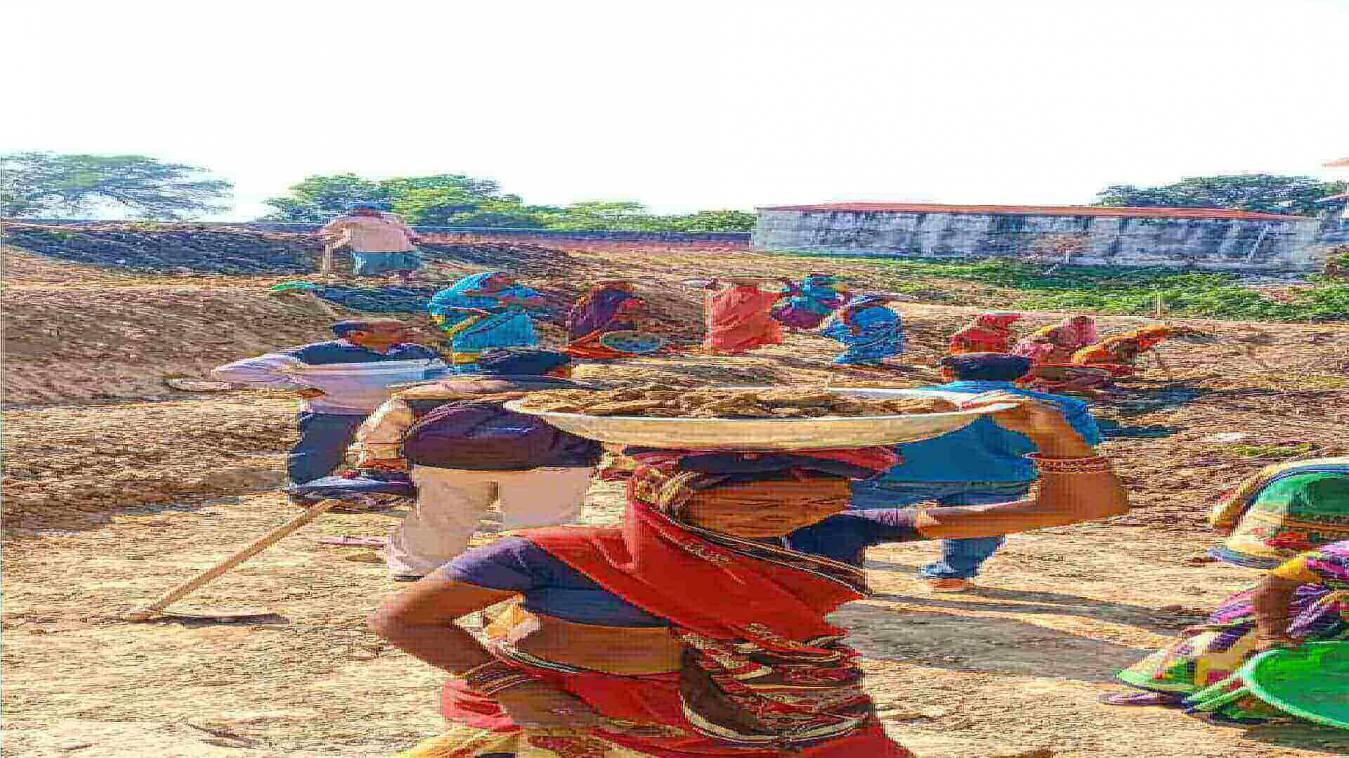 हरहुआ ने बलुआ और चंदापुर में मनरेगा कार्य का किया निरीक्षण, दिया कड़े निर्देश